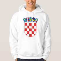 Croatia Coat of arms HR Hrvatska Hoodie