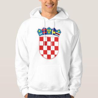 Croatia Coat of arms HR Hrvatska Hoodie