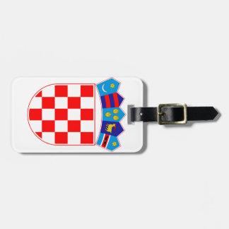 Croatia Coat Of Arms Luggage Tag
