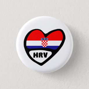 Split City Croatia Flag Cufflinks
