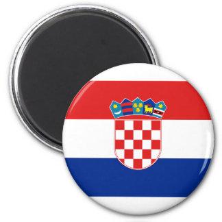 Croatia, Croatia 2 Inch Round Magnet
