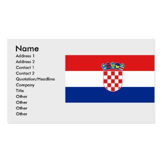 Croatia, Croatia Business Card Template