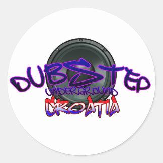 Croatia Croatian DUBSTEP Dub DnB reggae Electro Stickers
