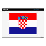"Croatia – Croatian Flag 12"" Laptop Skin"
