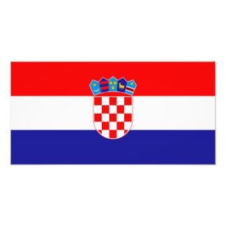Croatia – Croatian Flag Art Photo