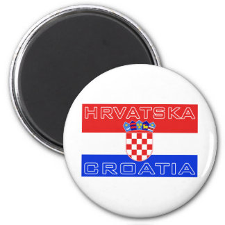Croatia Croatian Hrvatska Flag Magnet