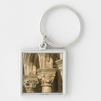 Croatia, Dalmatia, Dubrovnik. Stone arches and Keychain