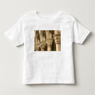 Croatia, Dalmatia, Dubrovnik. Stone arches and Tee Shirt
