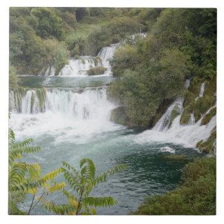 Croatia, Dalmatia, Krka Falls National Park Ceramic Tile