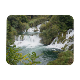 Croatia, Dalmatia, Krka Falls National Park Rectangular Photo Magnet