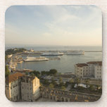 Croatia, Dalmatia, Split. View of Riva Beverage Coasters