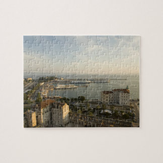Croatia, Dalmatia, Split. View of Riva Jigsaw Puzzle