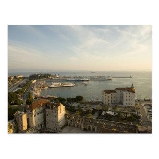 Croatia, Dalmatia, Split. View of Riva Postcard