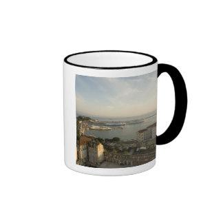 Croatia, Dalmatia, Split. View of Riva Ringer Mug