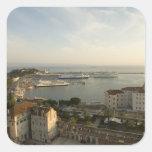 Croatia, Dalmatia, Split. View of Riva Square Sticker