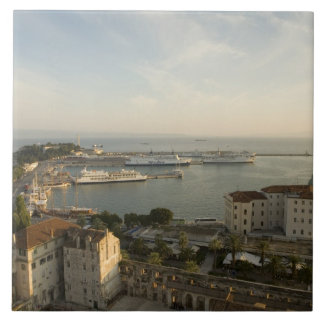 Croatia, Dalmatia, Split. View of Riva Tile