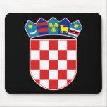 croatia emblem mousepads
