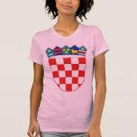 croatia emblem t-shirts