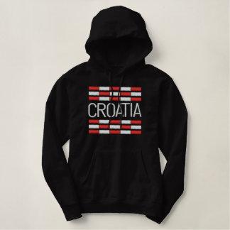 Croatia Embroidered Hoodie