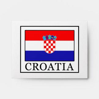 Croatia Envelope