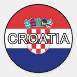 Croatia Euro Sticker