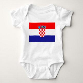 Croatia Flag Baby Bodysuit