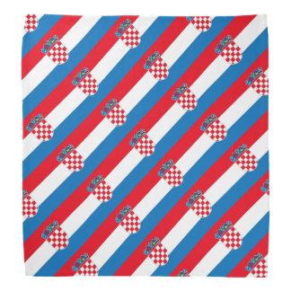 Croatia Flag Bandana