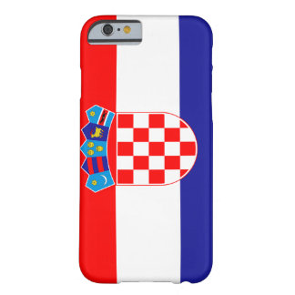 Croatia Flag Barely There iPhone 6 Case