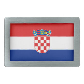 Croatia Flag Belt Buckle