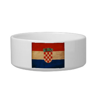 Croatia Flag Bowl