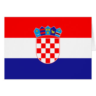 Croatia Flag Card