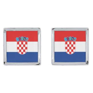 Croatia Flag Cufflinks