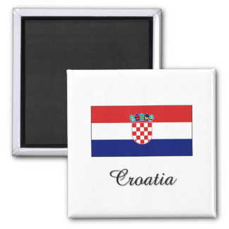 Croatia Flag Design Magnet