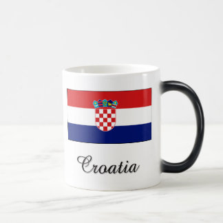 Croatia Flag Design Mug