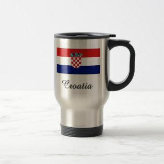 Croatia Flag Design Mugs