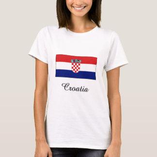 Croatia Flag Design T-Shirt