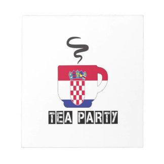 Croatia Flag Designs Scratch Pad