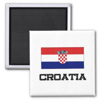 Croatia Flag Fridge Magnet