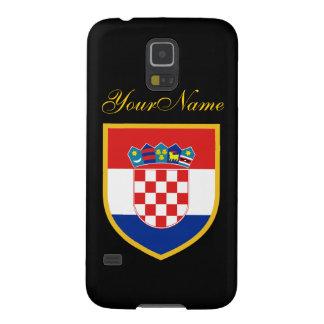 Croatia Flag Galaxy S5 Cover