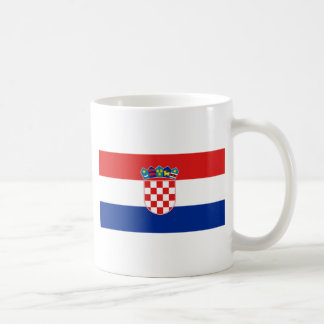 Croatia Flag HR Hrvatska Coffee Mug