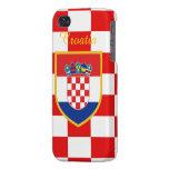 Croatia Flag iPhone 4/4S Covers