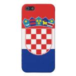 Croatia Flag iPhone Cover For iPhone 5