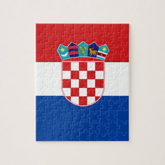 Croatia Flag Jigsaw Puzzle