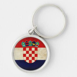 Croatia Flag Keychain