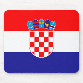 Croatia Flag Mouse Pads