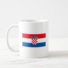 Croatian Flag Mug
