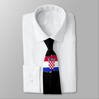 Croatia Flag Neck Tie