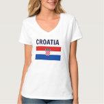 Croatia - Flag of Croatia T-Shirt