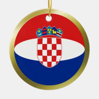 Croatia Flag Ornament
