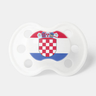 Croatia Flag Pacifier